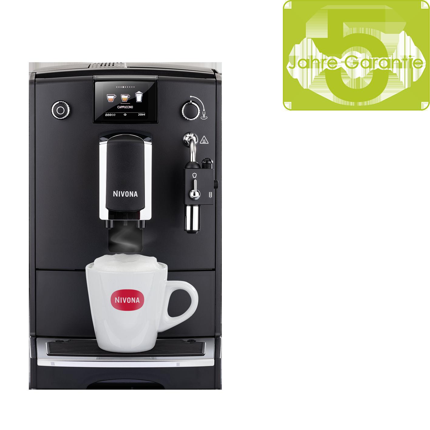 Nivona CafeRomatica 660 Mattschwarz/Chrom
