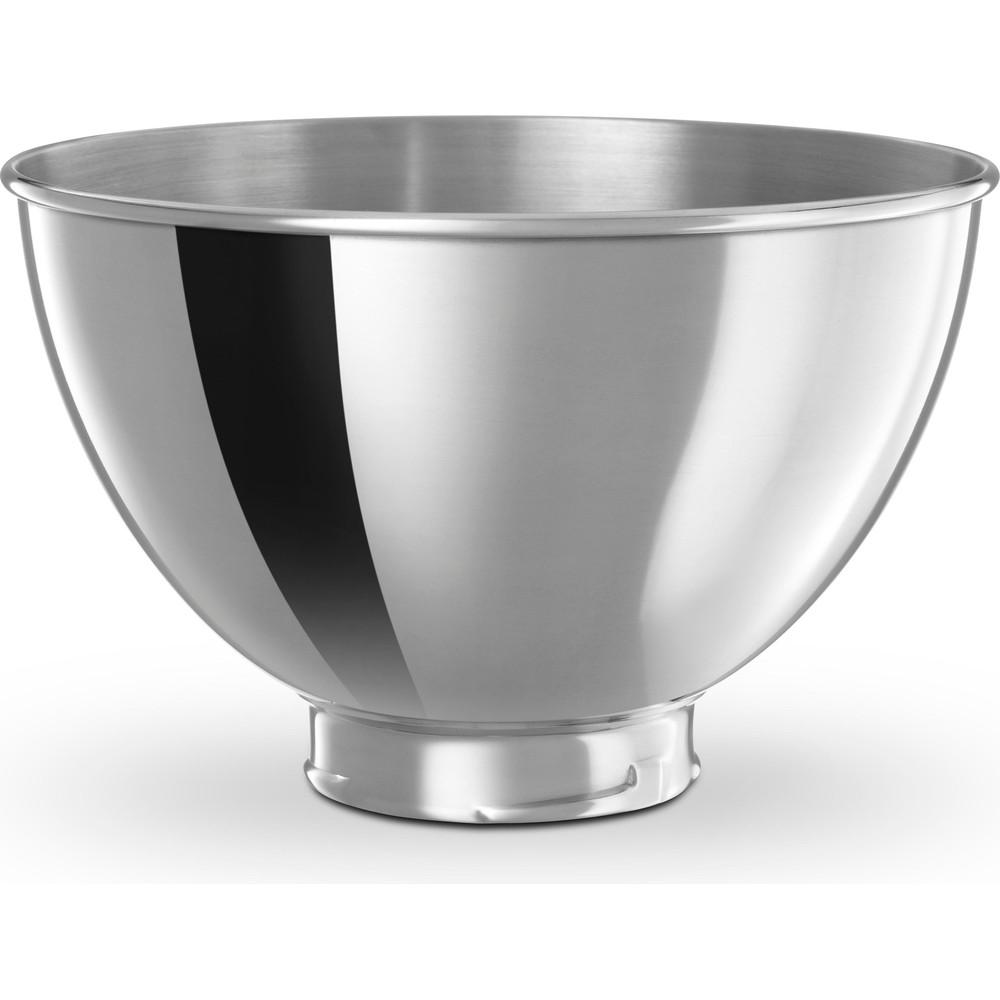 Edelstahlschüssel 3,0 L poliert ohne Griff für Küchenmaschine 4.3L &  4.8L