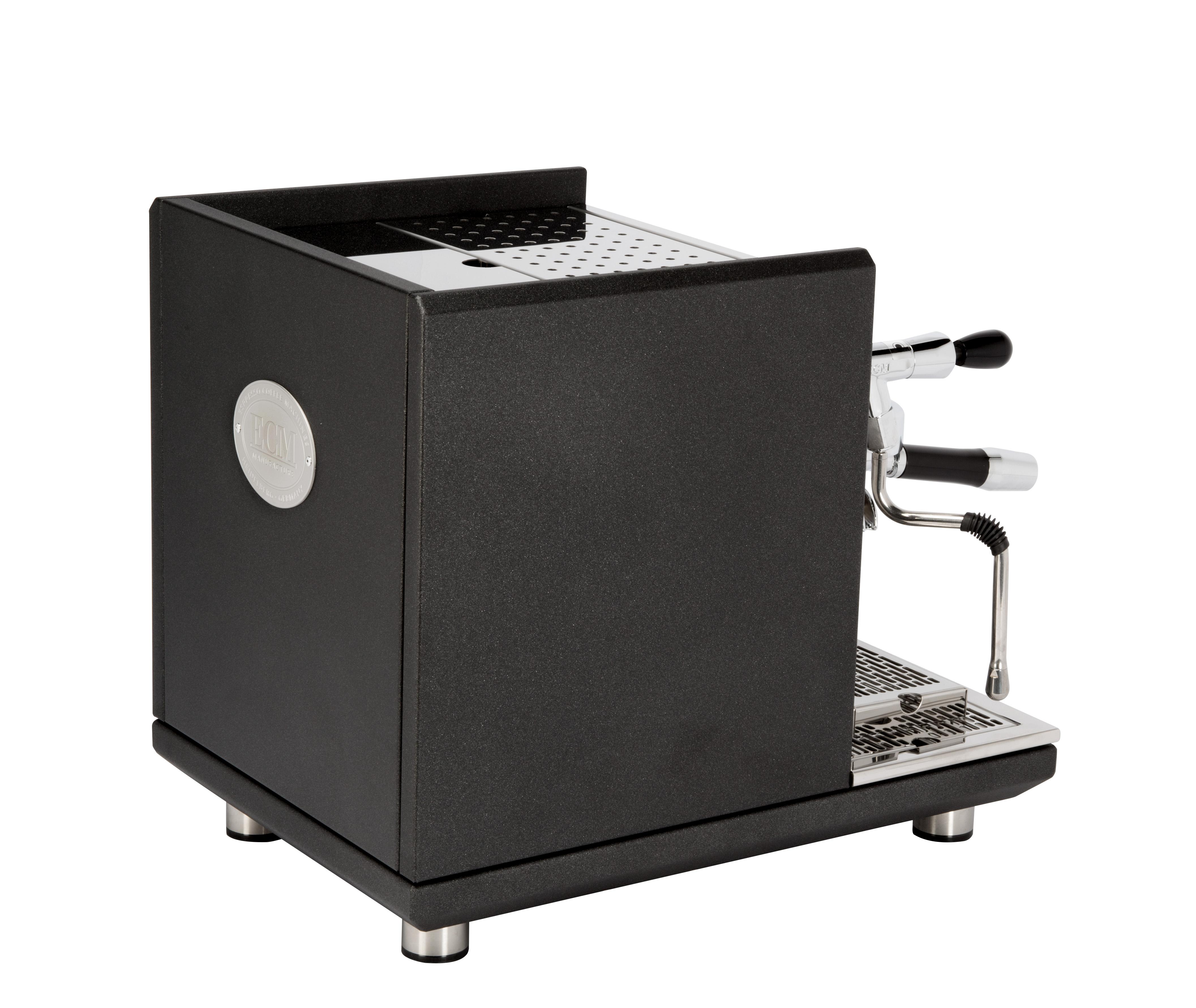 ECM Synchronika Anthrazit Dual Boiler-System mit Rotationspumpe Siebträgermaschine