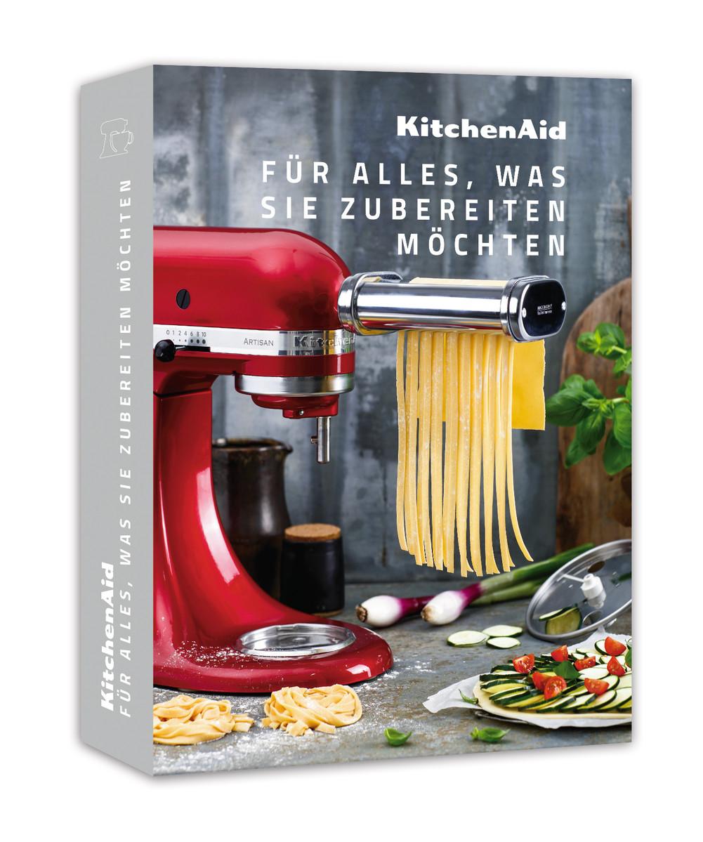 """KitchenAid Kochbuch  """"Alles was Sie zubereiten möchten"""""""