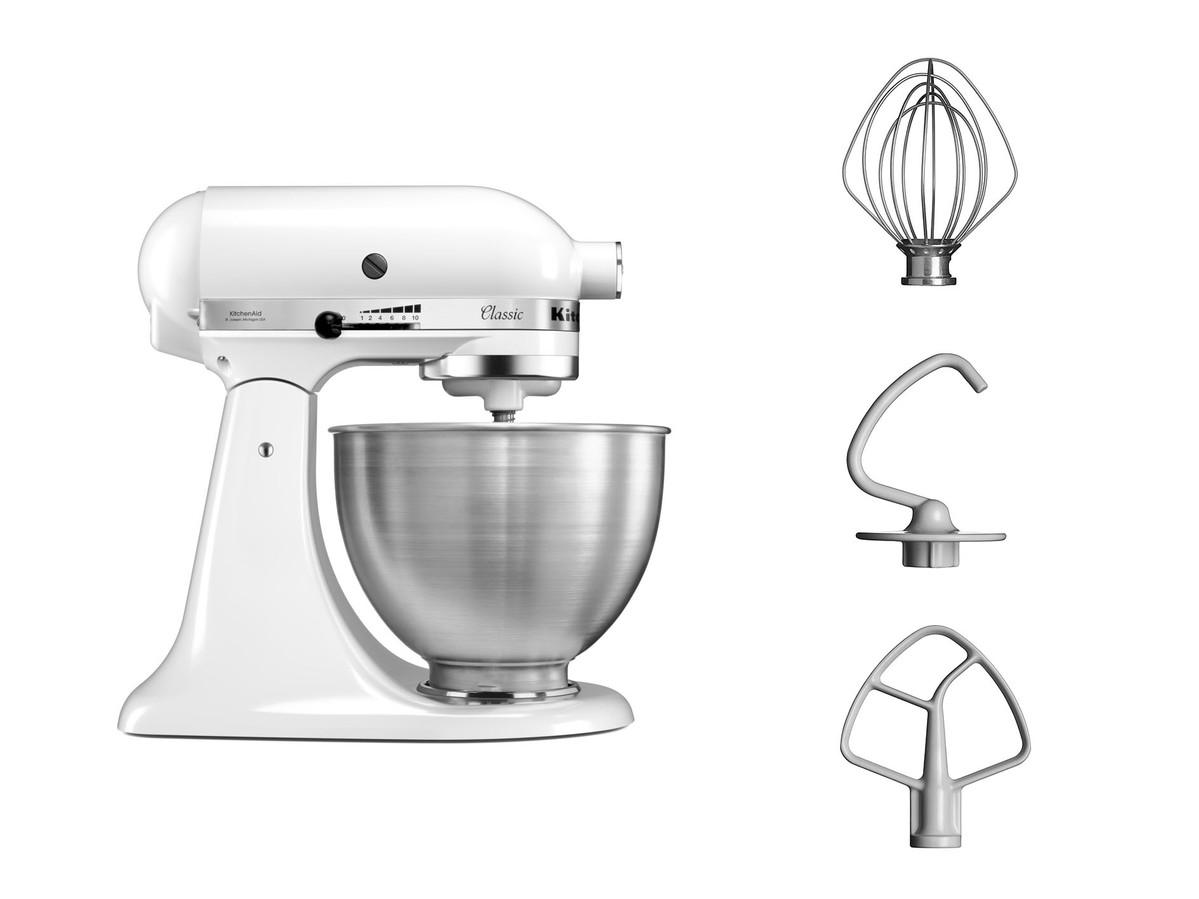 KitchenAid Küchenmaschine 4.3L CLASSIC Kippbarer Motorkopf 5K45SS