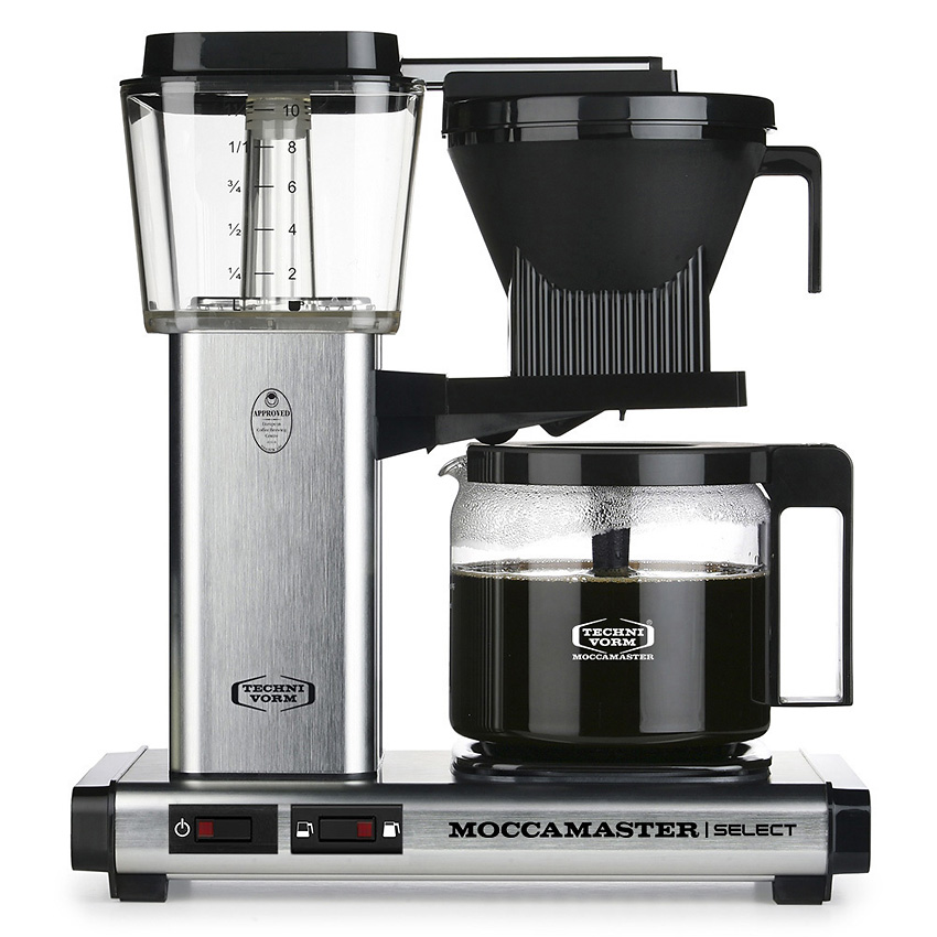 Moccamaster KBG Select - Brushed
