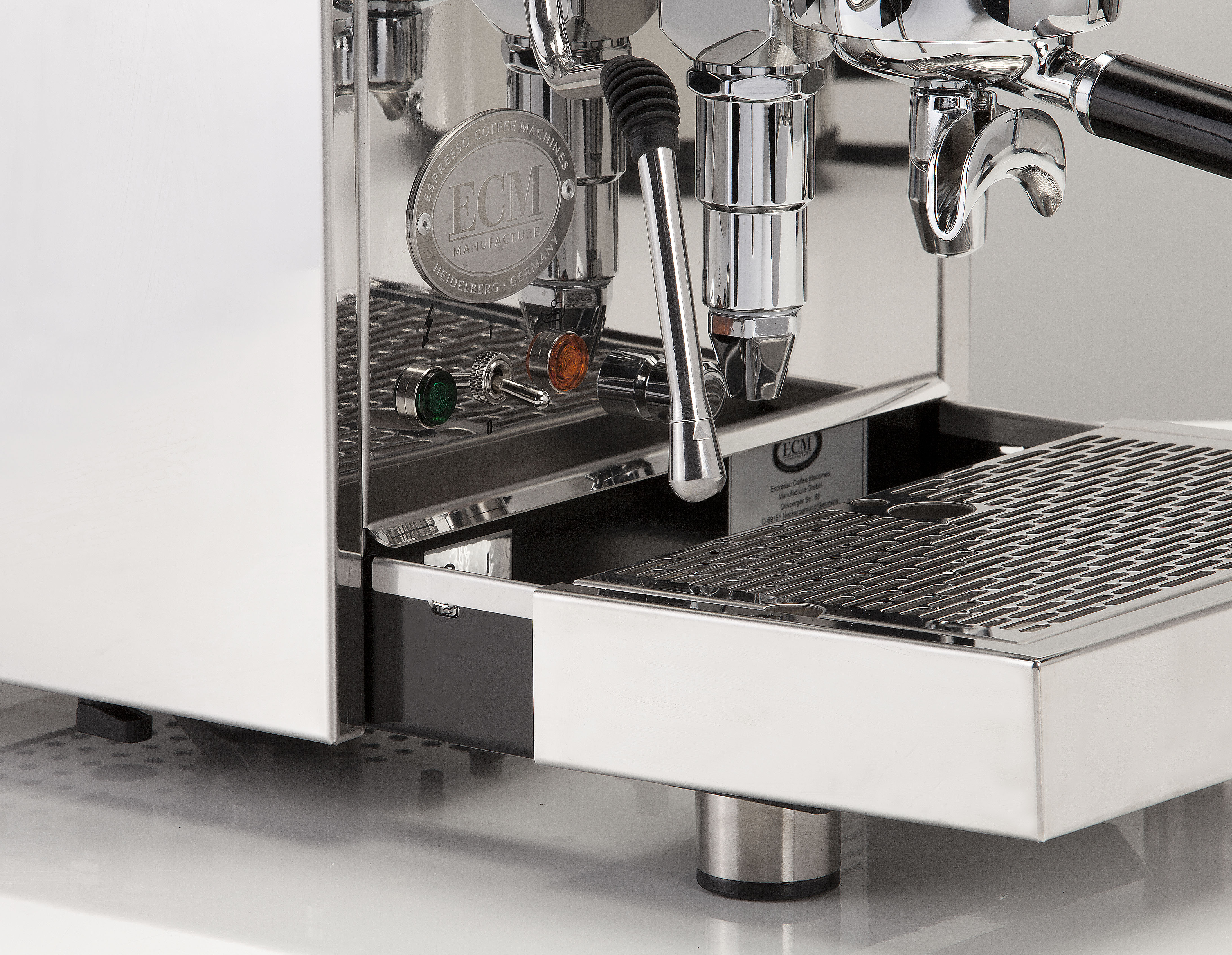 ECM Mechanika IV Profi mit Rotationspumpe Siebträgermaschine