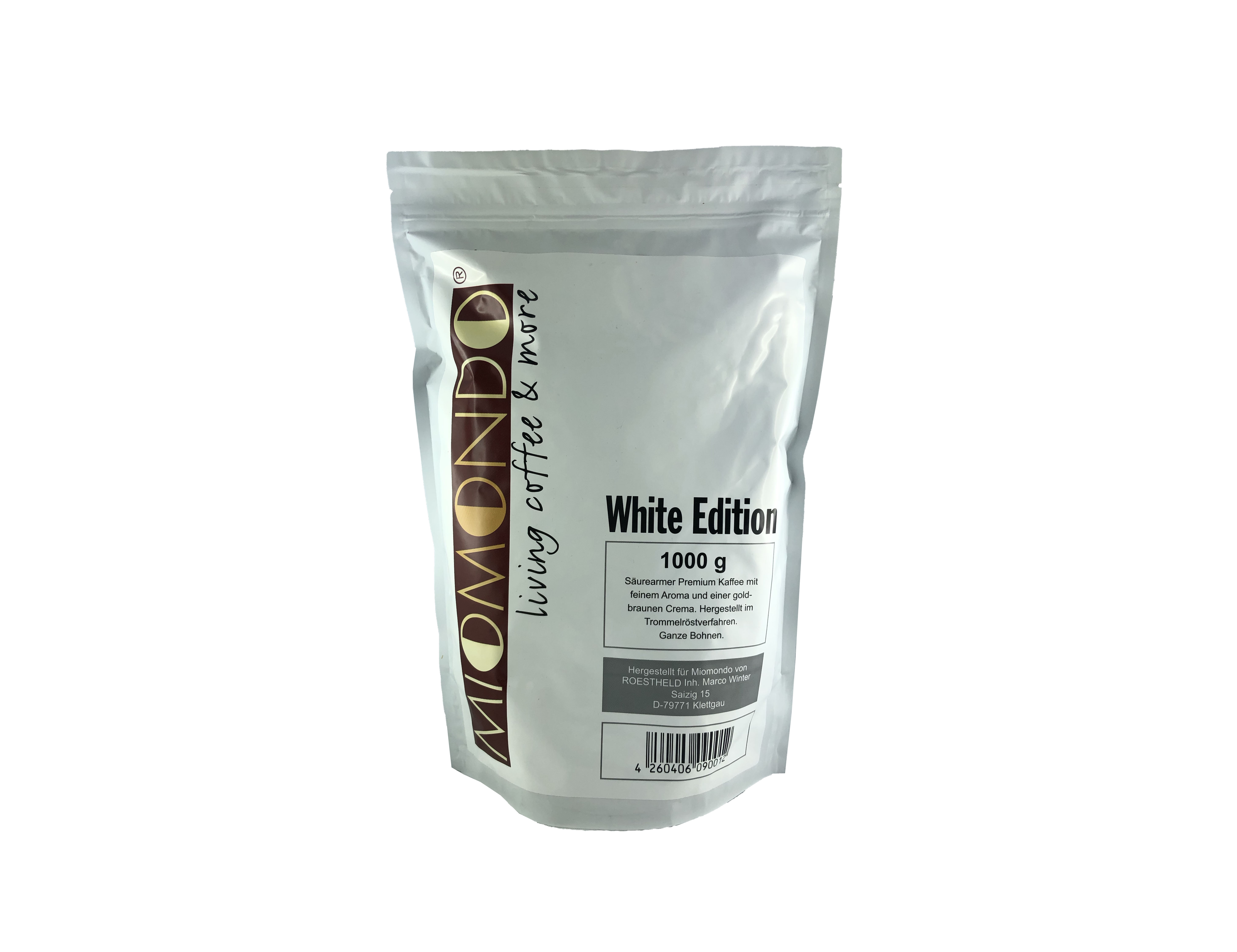 Miomondo 1000g - White Edition