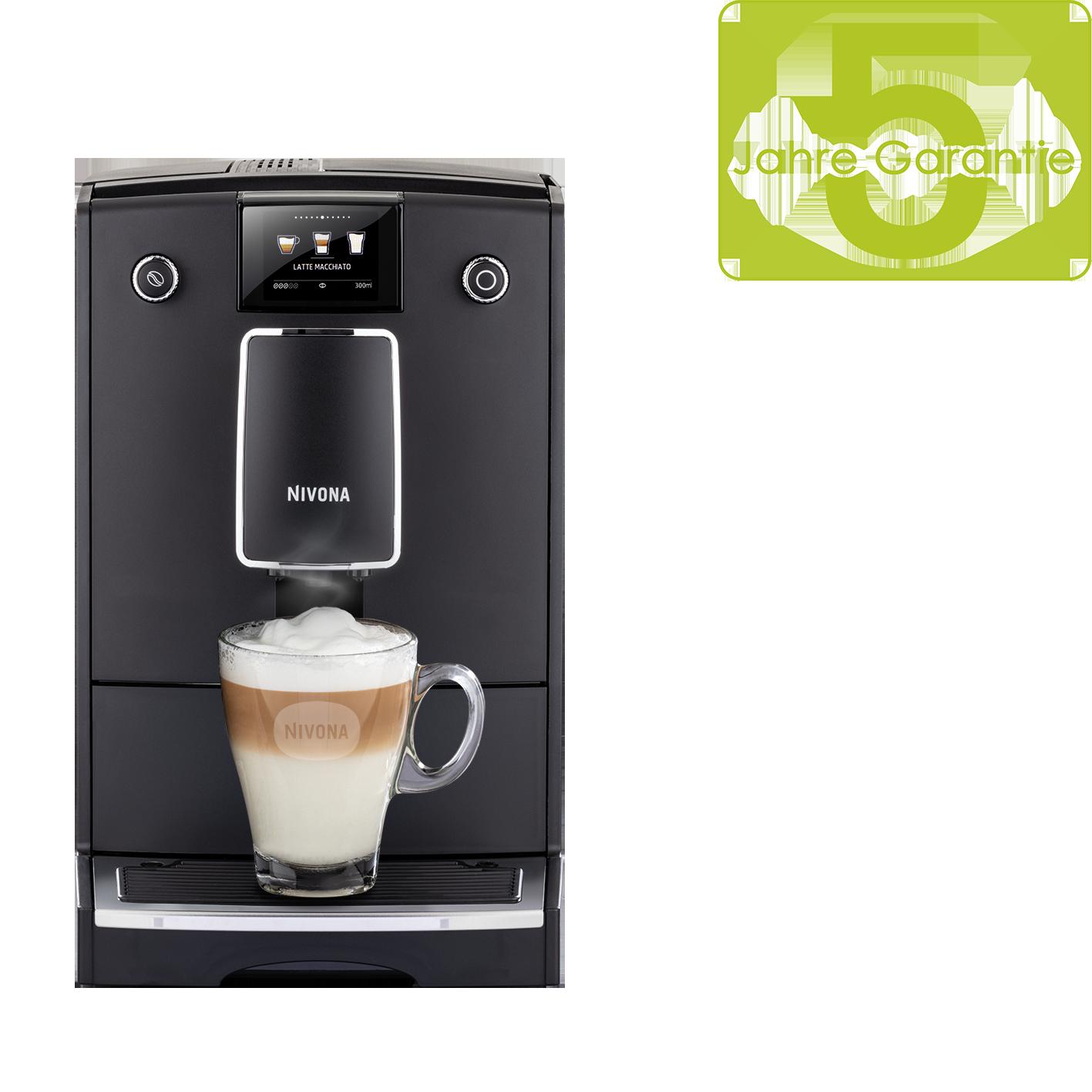 Nivona CafeRomatica 759 Mattschwarz/Chrom