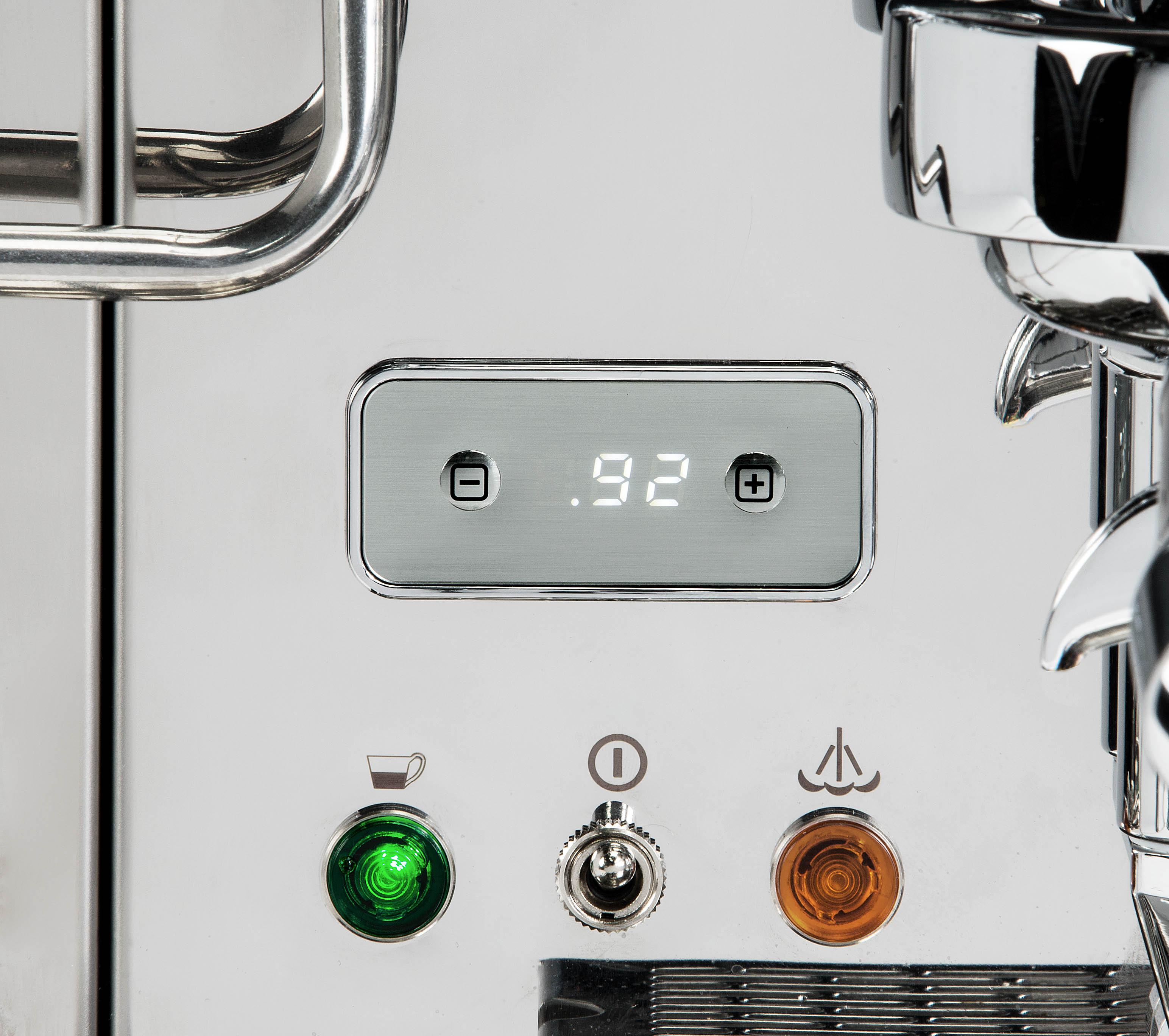 ECM Synchronika Dual Boiler-System mit Rotationspumpe Siebträgermaschine